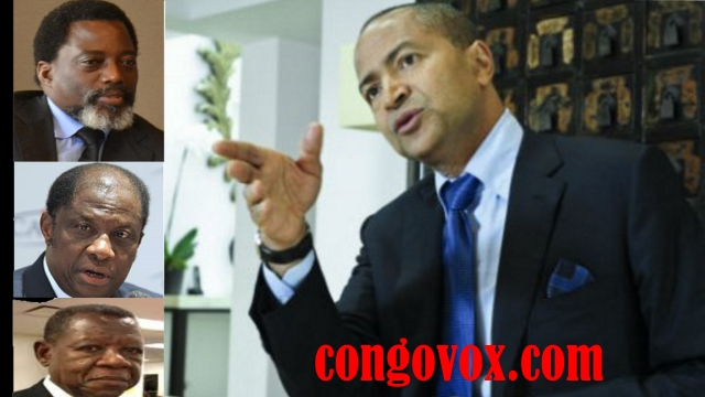 Joseph Kabila, Alexi Tambwe, Lambert Mende, Moise Katumbi