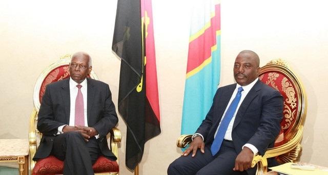 José Eduardo dos Santos et Joseph Kabila