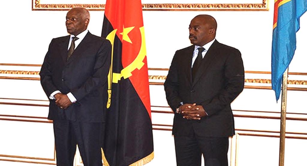 Dos Santos et Joseph Kabila