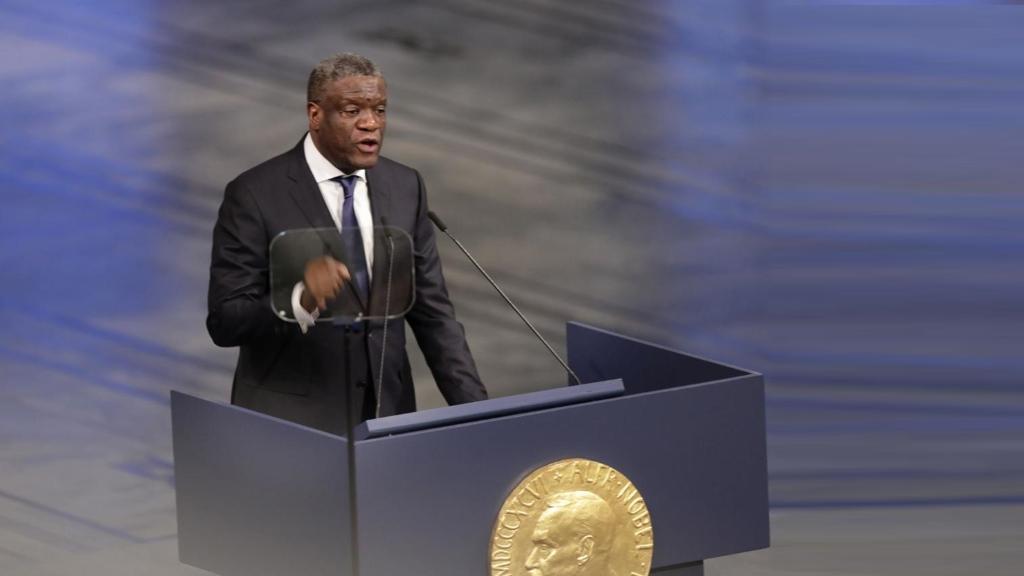 Dr. Denis Mukwege, Prix Nobel de la Paix