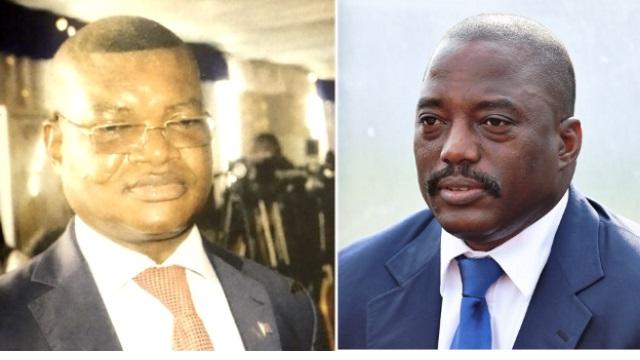 Kalev Mutond (ANR), Joseph Kabila (President sortant de la RDC)