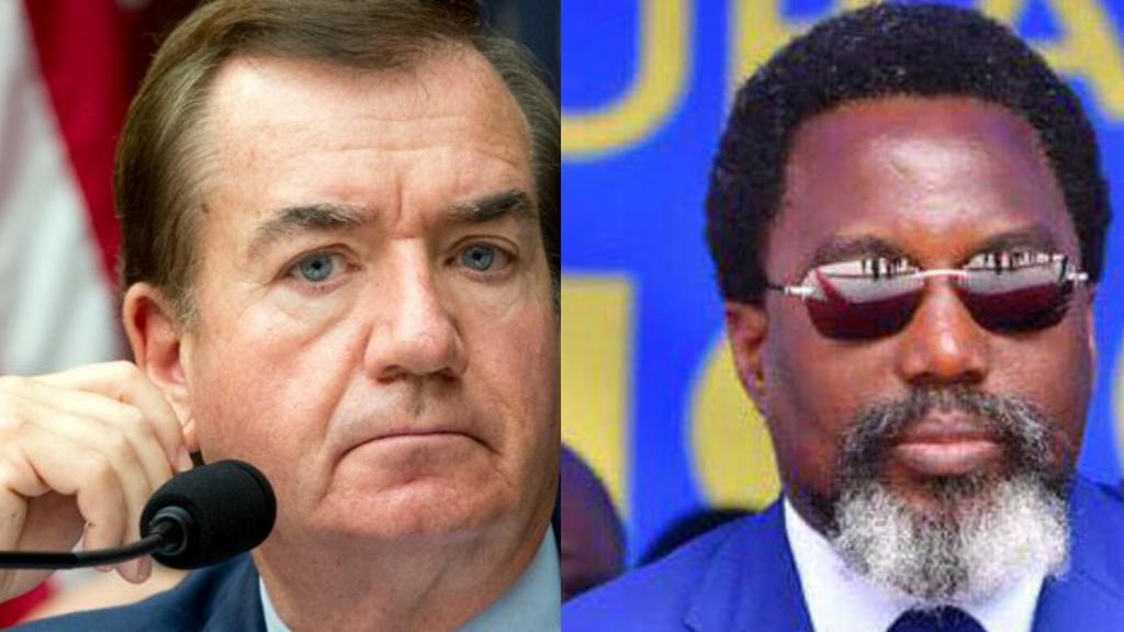 Ed Royce, Joseph Kabila