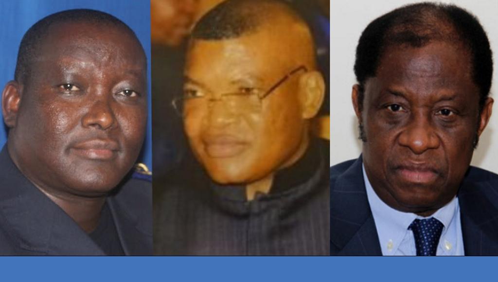 Chales Bisengimana, Kalev Mutond et Alexis Tambwe Mwamba