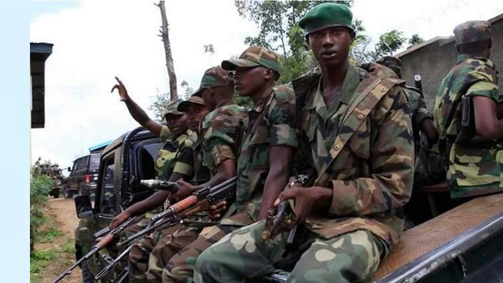Voici le genre de militaires que Kabila privilégie à Beni. La population s'y oppose car ce sont des assassins
