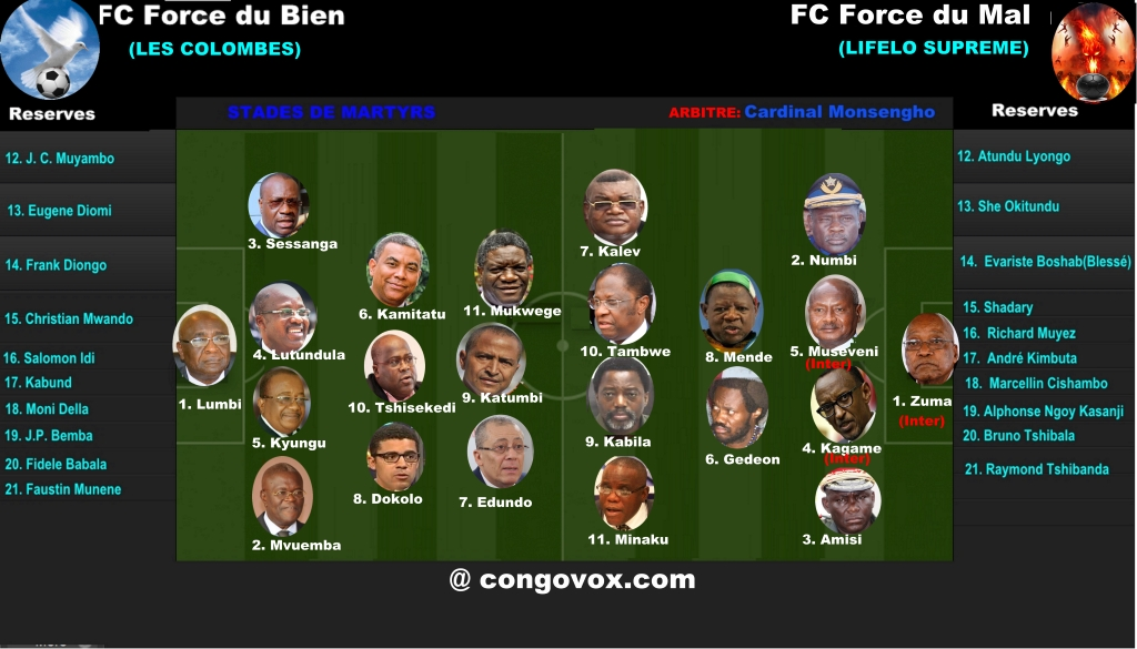 FC Force du Bien contre FC Force du Mal