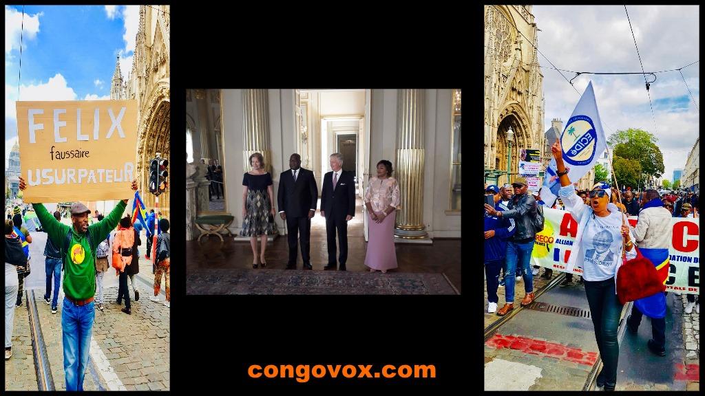 Felix Tshisekedi a Bruxelles, 17/09/2019