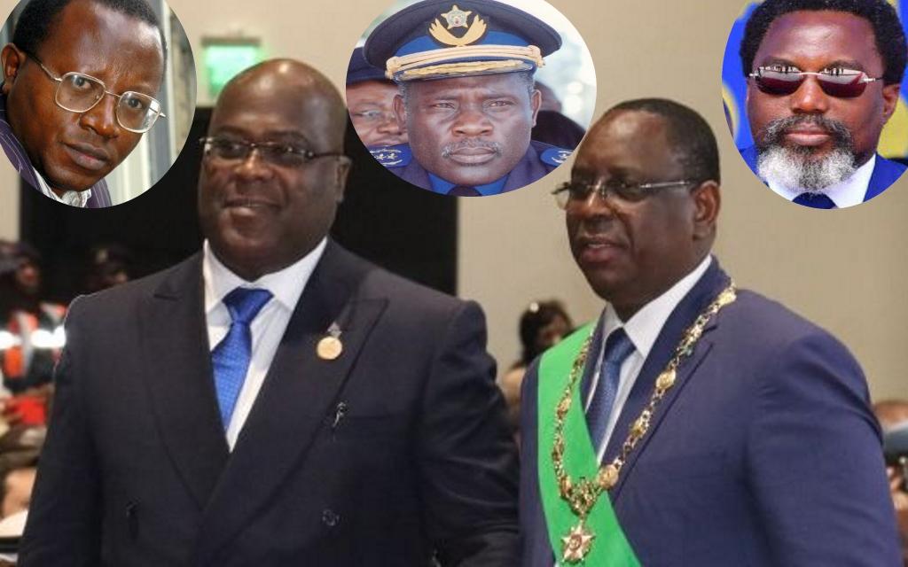 Floribert Chebeya, Felix Tshisekedi, John Numbi, Macky Sall, Joseph Kabila
