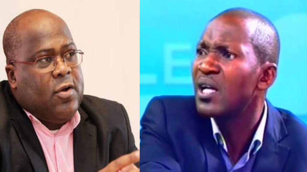 Felix Tshisekedi et Daniel Nsafu