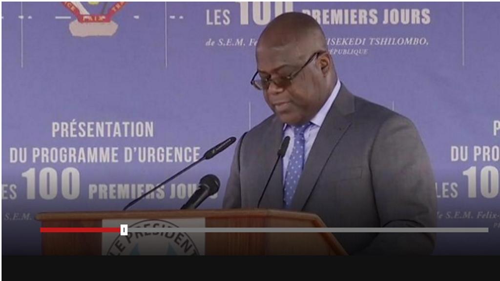 Felix Tshilombo Tshisekedi