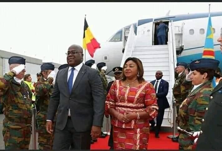 Felix Tshisekedi et Madame