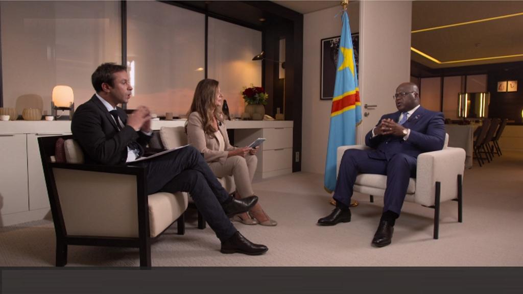 Felix Tshisekedi à TV5 Monde