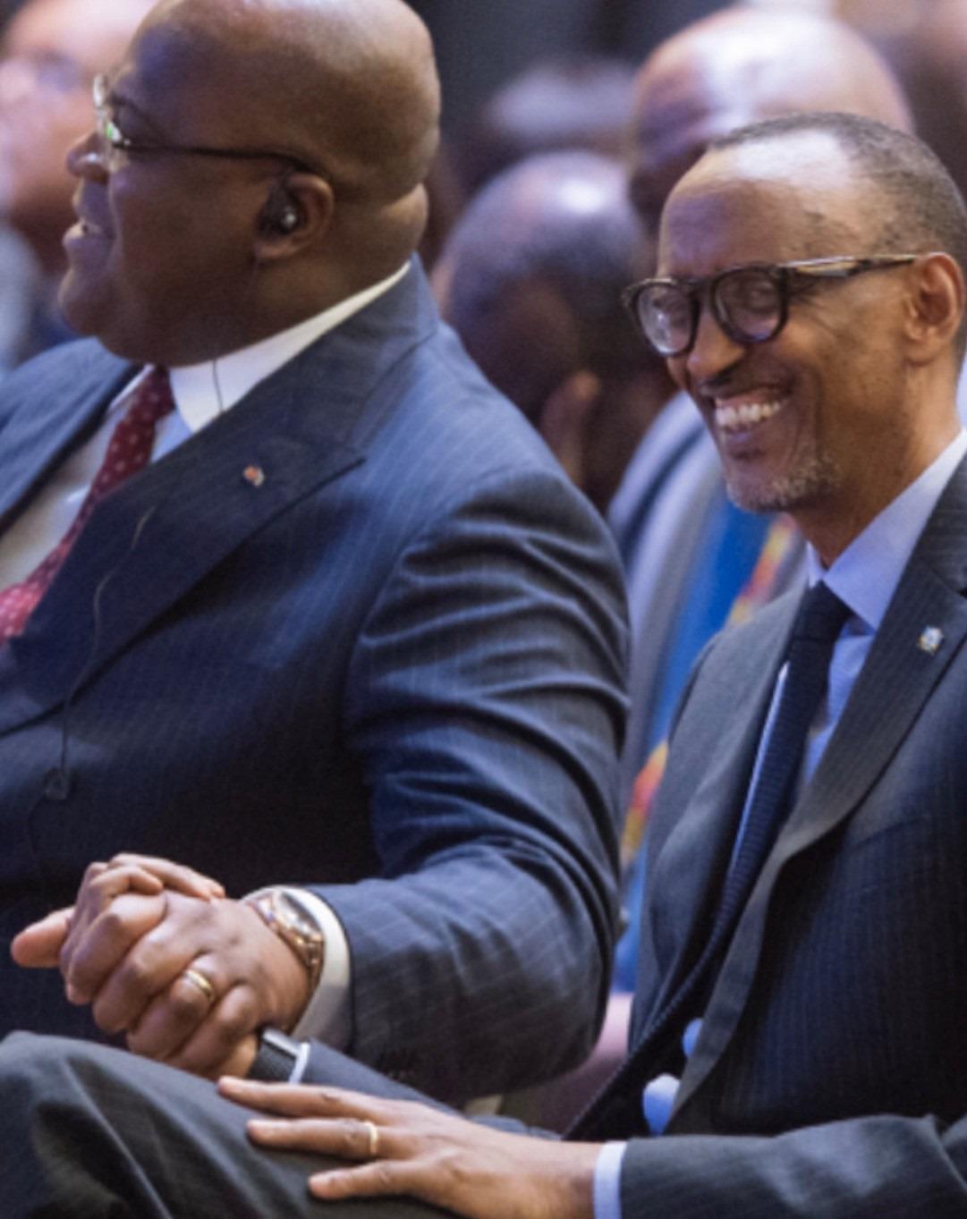 Felix Tshisekedi, Paul Kagame