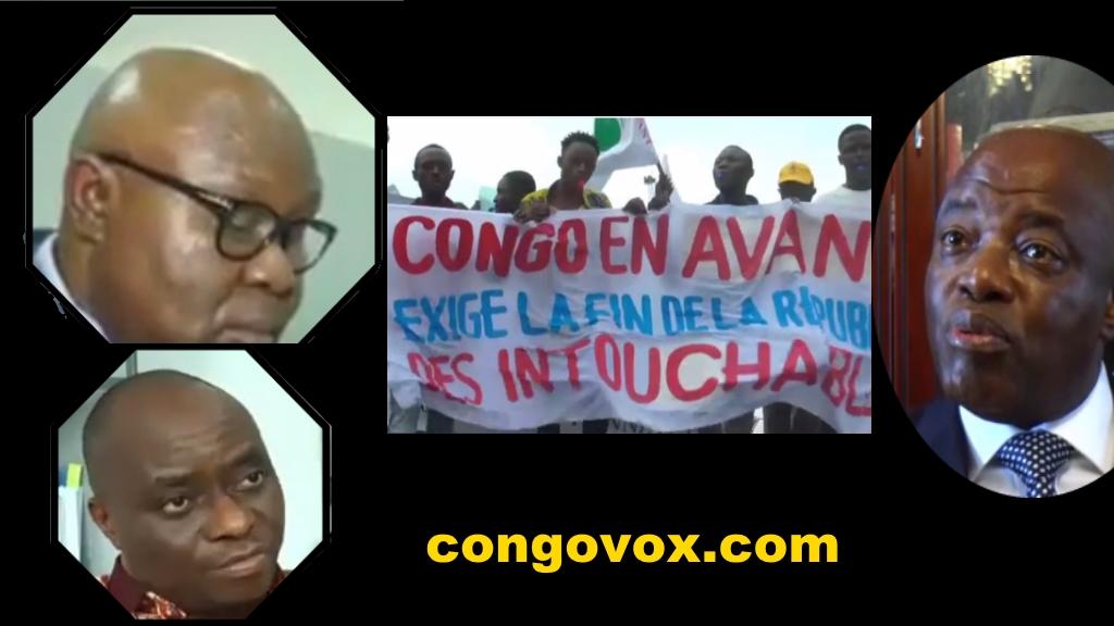 Jean Baptiste Massamba , Georges Kapiamba , Evariste Boshap, Congo en Avant
