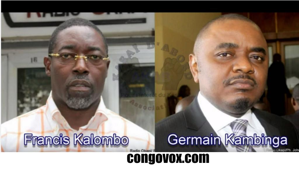 Francis Kalombo, Germain Kambinga
