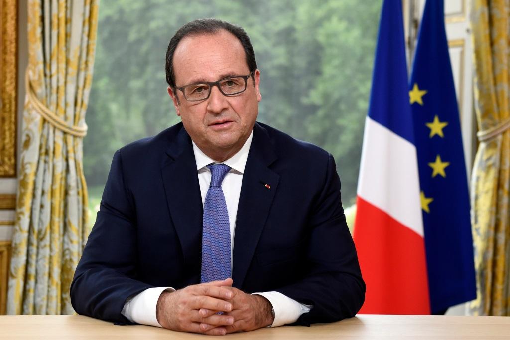 Francois Hollande, President Francais