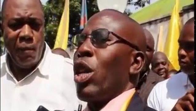 Le Gouverneur du Haut Katanga Jean-Claude Kazembe