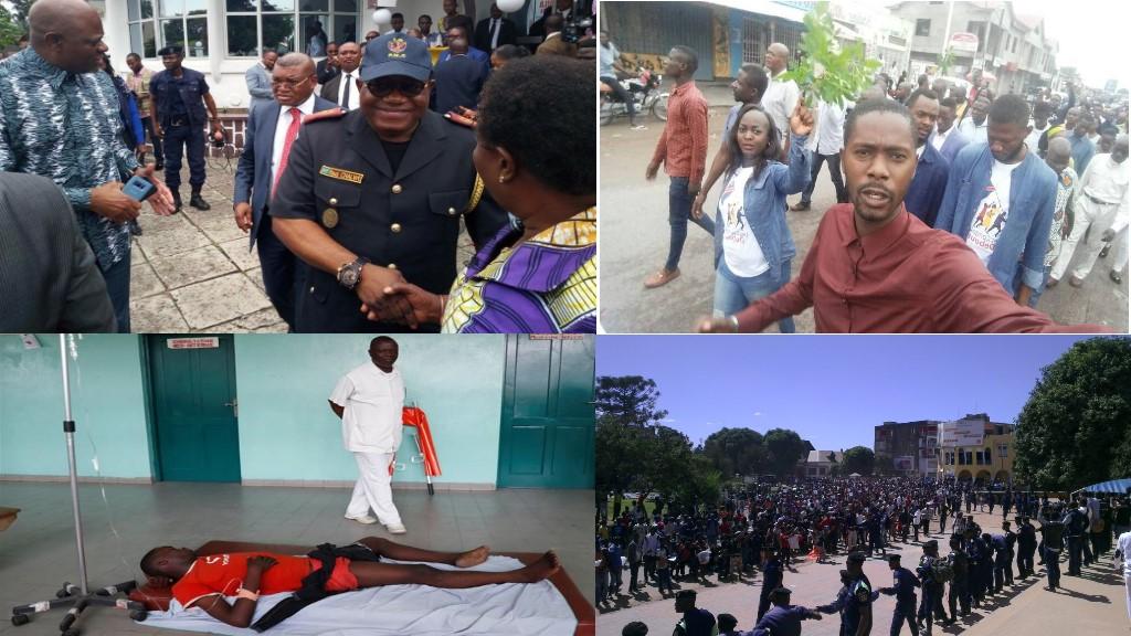La grande marche du 25-02-2018 en RD Congo