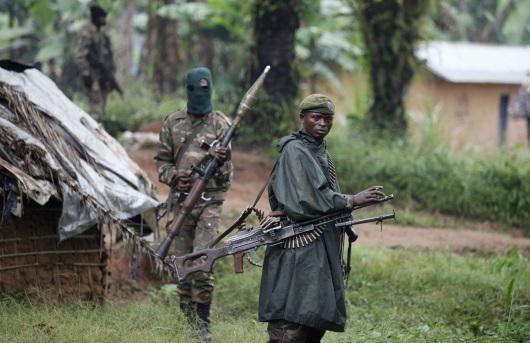 Les soldats congolais positionés a l'Est de la République Démocratique du Congo