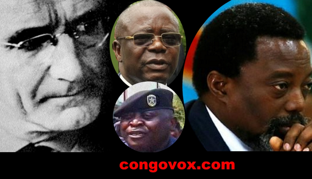 Günther Anders , André Kimbuta, Gen Kasongo, Joseph Kabila