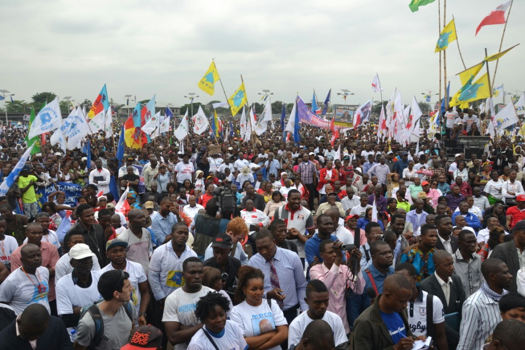 Meeting populaire  de la Dynamique de l'Opposition en DRC au 09-15-2015