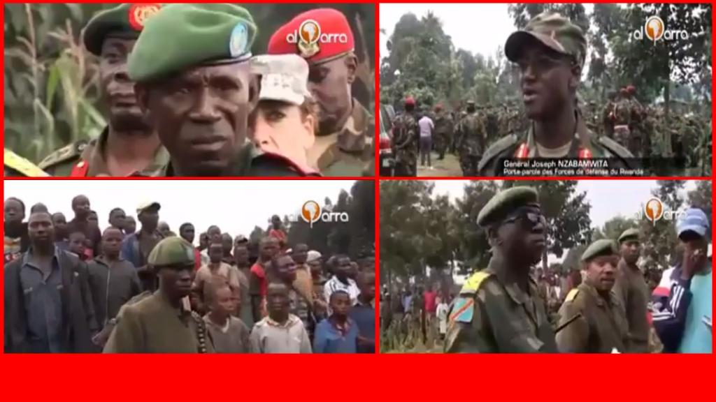 Les troupes rwandaises en RD Congo