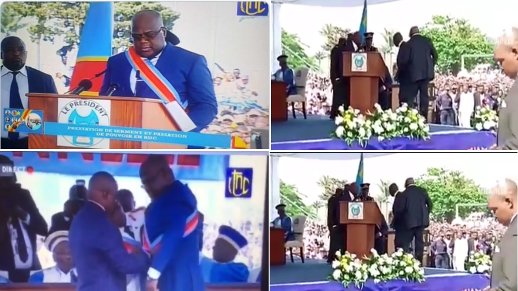 Felix Tshisekedi, Investiture, 24-01-2019
