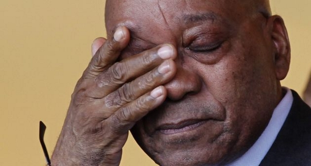 Jacob Zuma, Ancien President Sud Africain