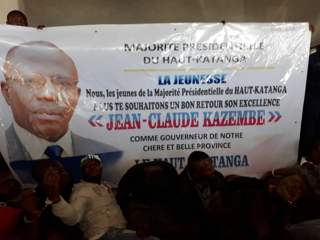 Jean-Claude Kazembe, Gouverneur du Haut Katanga