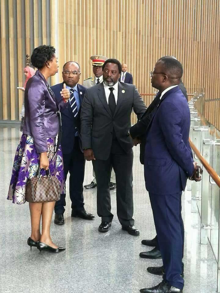 Joseph Kabila à l'UA