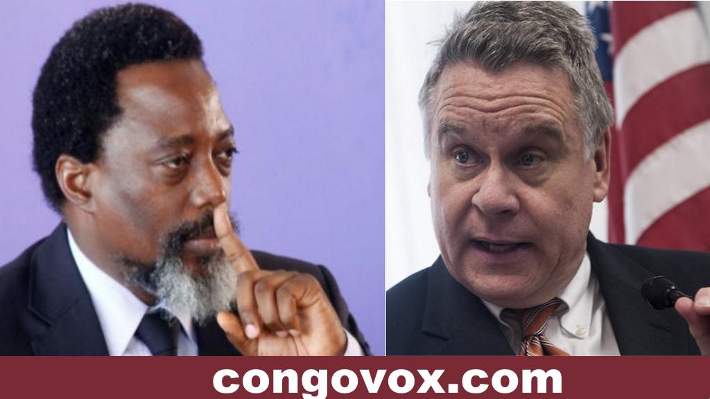 Joseph Kabila mis en garde par le President Chris Smith du Congres Americaine