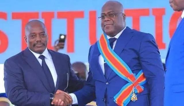 Felix Tshisekedt et Joseph Kabila
