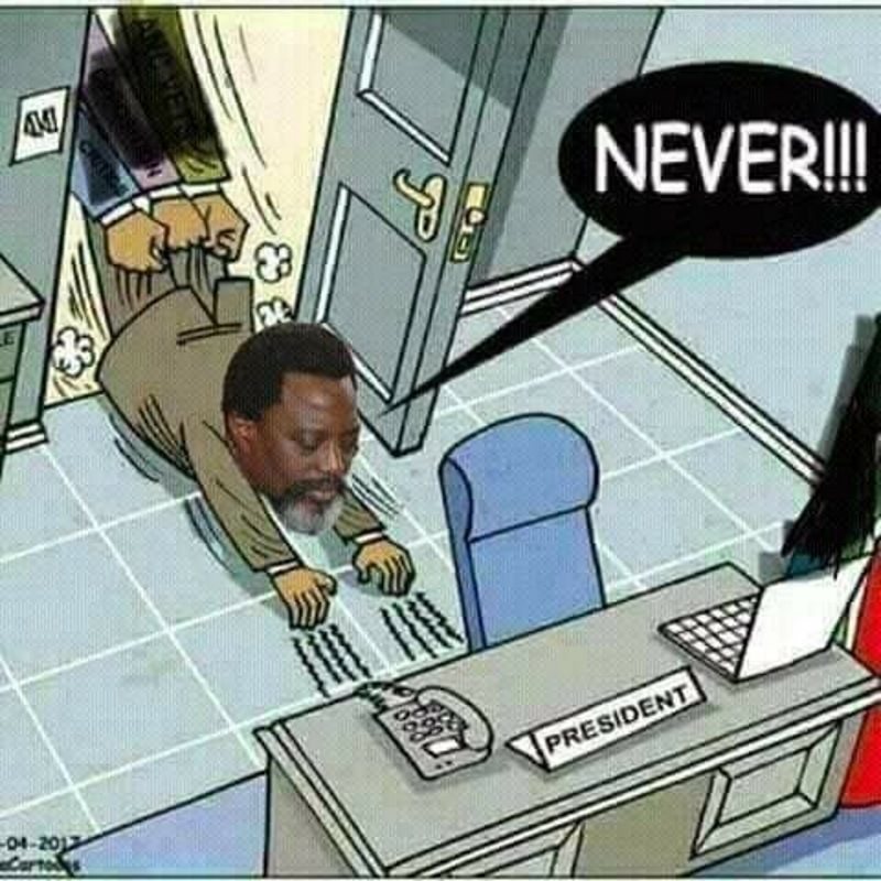 Joseph Kabila, Humour ...