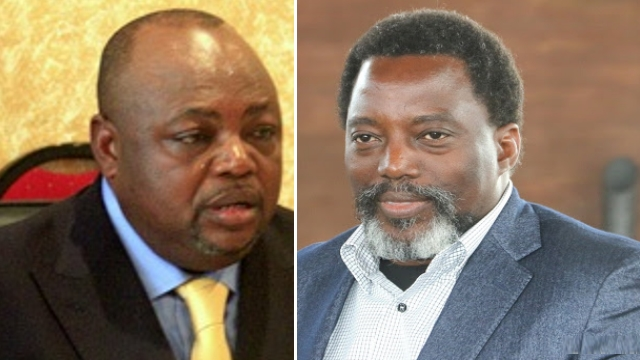 José Makila et Joseph Kabila