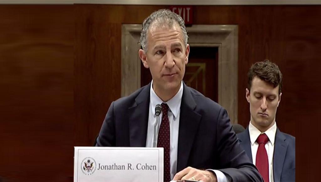 U.S. Deputy U.N. Ambassador Jonathan Cohen