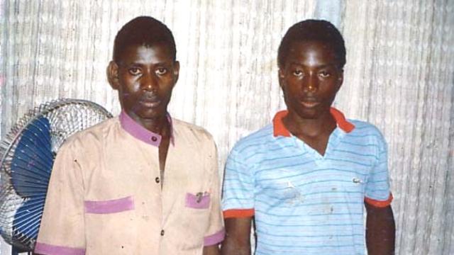 Hyppolyte Kanambe (Joseph Kabila) et Adrian Christophe Kanambe