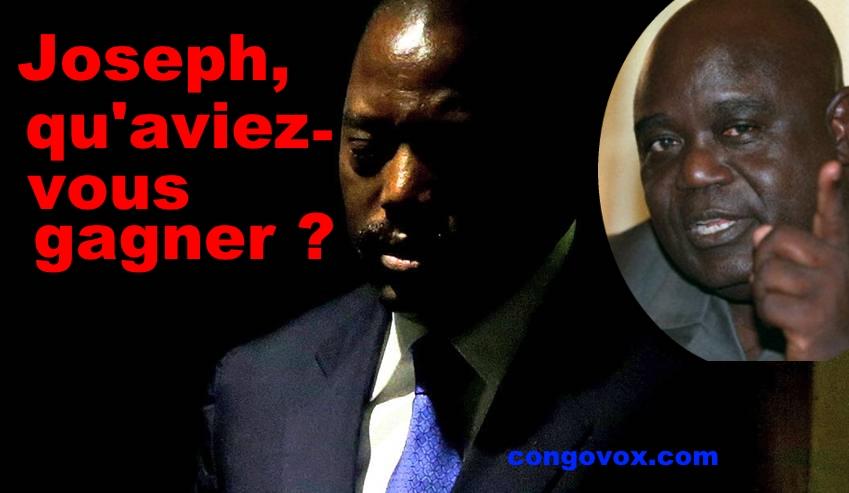 Joseph Kabila et Laurent Desiré Kabila