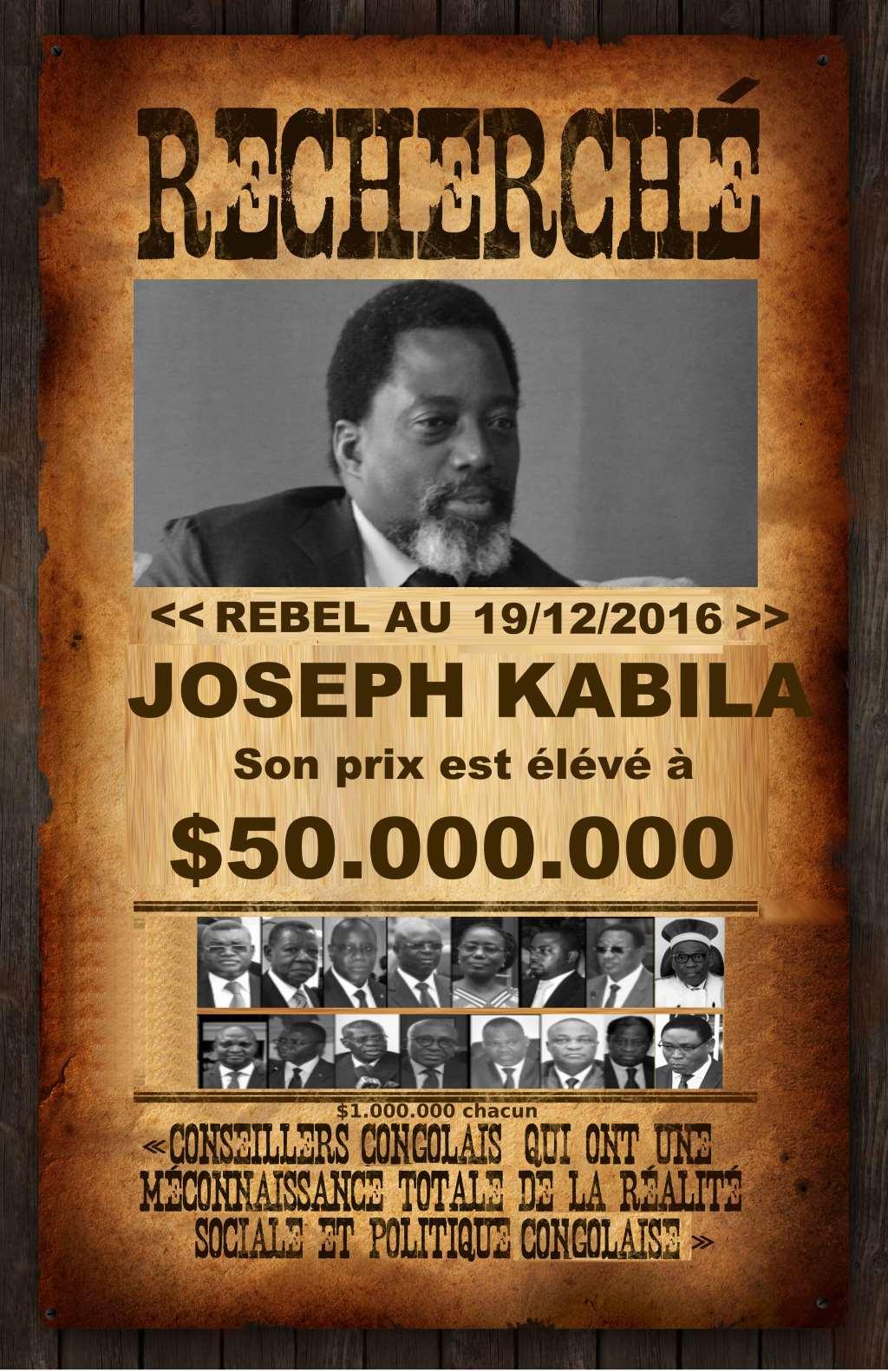 Recherche, Joseph Kabila