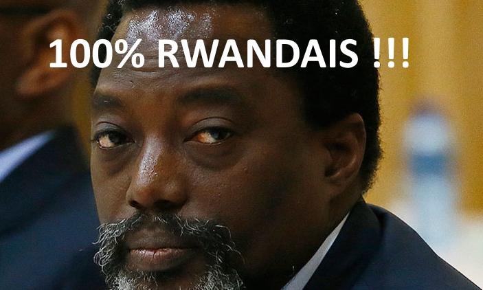 Joseph Kabila 100% Rwandais