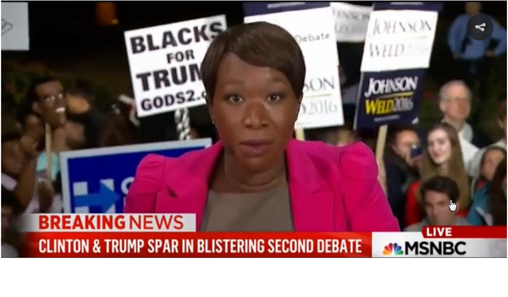 JOY REID DE MSNBC