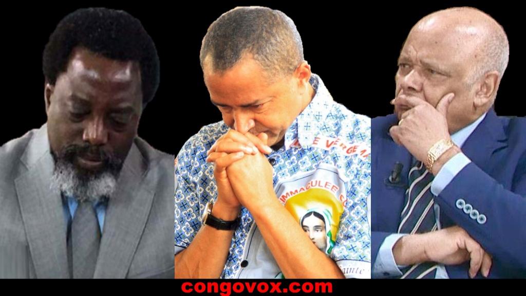 Joseph Kabila, Moise Katumbi et Katebe Katoto