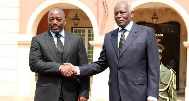 Joseph Kabila et Dos Santos
