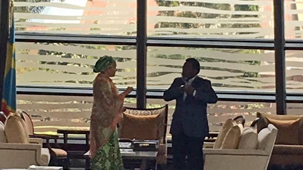 Amina, Joseph Kabila