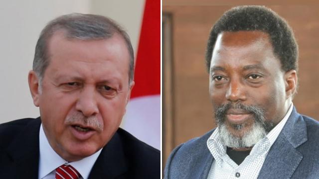 Recep Tayyip Erdoğan et Joseph Kabila