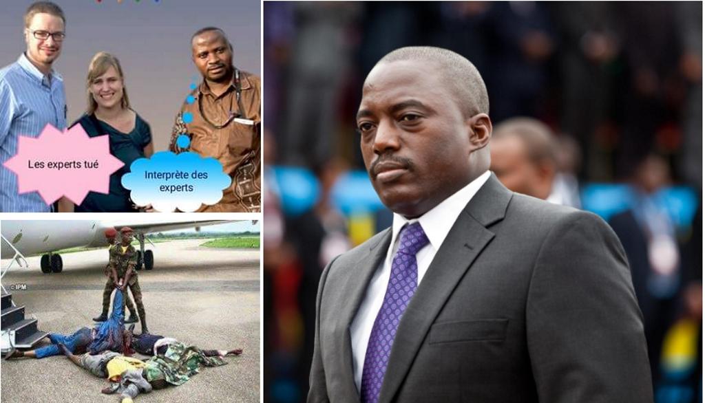 Joseph Kabila et ses Victimes