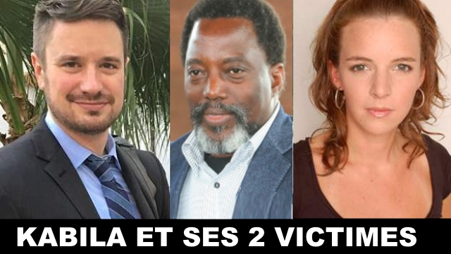 Michael Sharp, Joseph Kabila, Zaida Catalan
