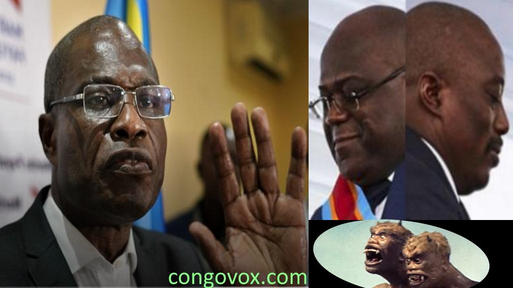Martin Fayulu, Felix Tshisekedi, Joseph Kabila