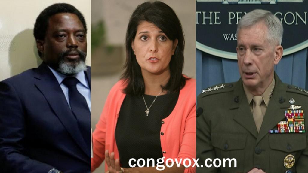 Joseph Kabila, Nikki Haley, Lieutenant General Thomas D. Waldhauser
