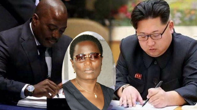Joseph Kabila, Jaynet Kabila, Kim Jong Un