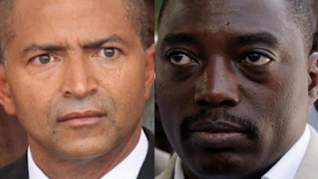 Moise Katumbi et  Joseph Kabila