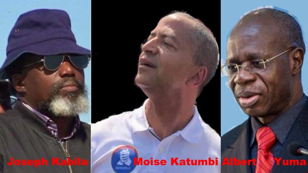 Joseph Kabila, Moise Katumbi, Albert Yuma